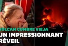 Le Volcan Cumbre Vieja En Eruption Decouvrez Les Images Impressionnantes Uahpope8Kfg Image