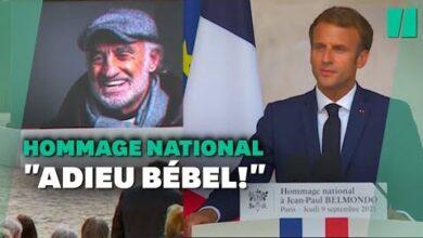 Lhommage De Macron A Belmondo Cest Un Peu Nous En Mieux 7Actveioxey Image