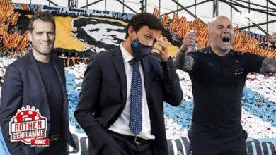 Ligue 1 Enthousiasme Par Lom Rothen Souligne Le Travail De Longoria Et Sampaoli 8Prcagvw5Mm Image