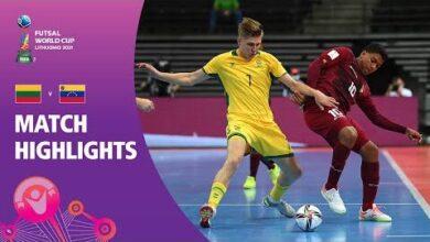Lithuania V Venezuela Fifa Futsal World Cup 2021 Match Highlights Ew12Alpx Hw Image