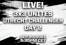 Live 3X3 Unites Utrecht Challenger 2021 Day 2 Cbnbwpeadye Image