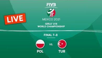 Live Pol Vs Tur Final 7 8 Girls U18 Volleyball World Champs 2021 Gflnxta Aom Image