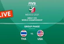 Live Tha Vs Usa Group Phase Girls U18 Volleyball World Champs 2021 Ni2Afdougha Image