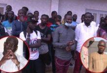 Locales 2022 Les Jeunes De Darou Salam Derriere Abdoulaye Mbaye Pour Reelire Aliou Sall 0 Zzib1Z4Y Image