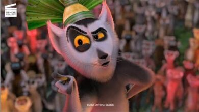 Madagascar La Rencontre Avec Le Roi Julian Clip Hd Exhfqvd2S7S Image