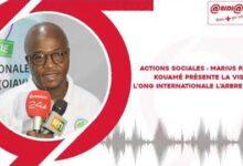 Marius Pacome Kouame Presente La Vision De Long Internationale Larbre De Vie Jlw5Wqzcj94 Image