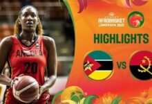 Mozambique Angola Game Highlights Fiba Womens Afrobasket 2021 Whzbiwoor68 Image