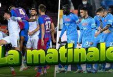 Naples Nouveau Leader De Serie A Le Barca Evite Le Pire En Liga Matinale Hgdac0H2F3M Image