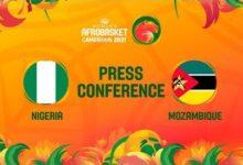 Nigeria V Mozambique Press Conference Fiba Womens Afrobasket 2021 Wwone4W Kpy Image
