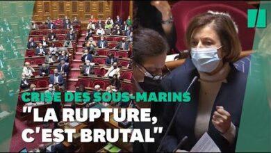 Parly Huee Au Senat En Sexpliquant Sur La Crise Des Sous Marins Q1P4Tuskhls Image
