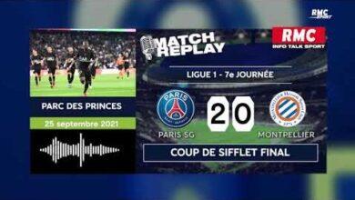 Psg 2 0 Montpellier Le Goal Replay Du Succes Parisien Avec Les Commentaires De Rmc Vhdgrnqdgfk Image