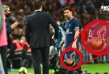 Psg 2 1 Ol Messi Remplace A Cause Dun Coup Au Genou Kzdcbsdcanq Image