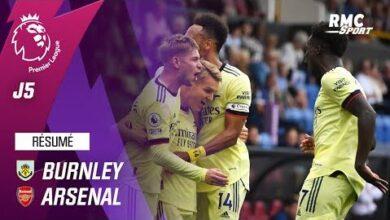 Resume Burnley 0 1 Arsenal Premier League J5 Srvwfolod O Image