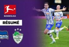 Resume Le Hertha Enchaine Bien Face A Greuther Furth Wosivwfmysa Image