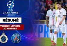 Resume Version Longue Champions League Le Psg Et La Mnm Accroches A Bruges Spqpk Gpmim Image