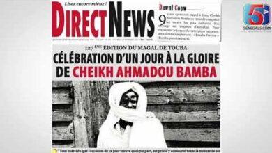 Revue De Presse Wolof De Senegal5 Du Vendredi 23 Septembre 2021 Avec Feptwpo3230 Image