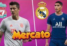 Robert Lewandowski Vers Liverpool Achraf Hakimi Veut Retourner Au Real Rumeur Mercato W8M78E2Mfkm Image