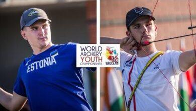 Robin Jaatma V Mateo Mangelle Compound Junior Men Gold Wroclaw 2021 World Youth Championships Pnnzvqolyay Image