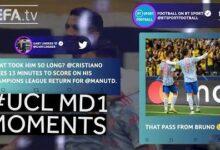 Ronaldo Messi Haller Ucl Matchday 1 Moments Uldg1Xoeh2Q Image
