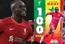 Sadio Mane Inscrit Son 100E But Avec Liverpool Qui Ecrase Crystal Palace De Cheikhou Kouyate 3 0 Bvap744Bw3O Image