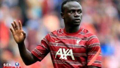 Sadio Mane Reclamerait 370 Millions F Par Semaine Pour Prolonger Son Contrat Avec Liverpool Uv2Palpmz3G Image