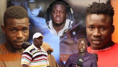 Senaffiche Boy Baol 2 Et Thiandoum 2 Mettent En Garde Gris Bordeaux Et Jamaicain I Dl87I3Pho Image