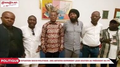 Situation Sociopolitique Des Artistes Expriment Leur Soutien Au President Du Fpi Affi Nguessan Kbaoxpmi8Zs Image