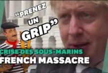 Sous Marins Boris Johnson Appelle La France A Se Ressaisir Et A Le Laisser Tranquille Sf3Raer M4M Image