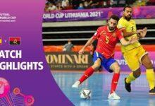 Spain V Angola Fifa Futsal World Cup 2021 Match Highlights Kt6C5 Xez2O Image