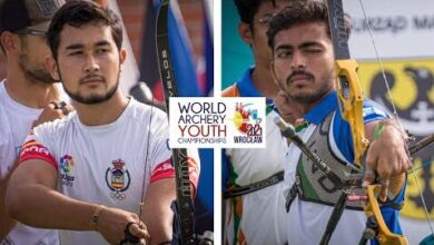 Spain V India Recurve Junior Men Team Gold Wroclaw 2021 World Archery Youth Championships Xsj3Iwl3E E Image