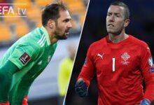 Steinbors Halldorsson European Qualifiers Great Saves Matchday 4 6 Rhhv4Ezszwk Image