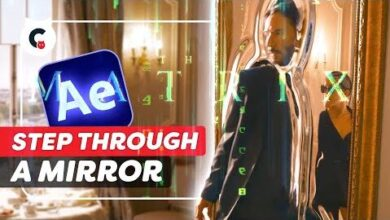 Step Through A Mirror Like Neo From The Matrix After Effects Tutorial Ys0Evv6Qhj0 Image