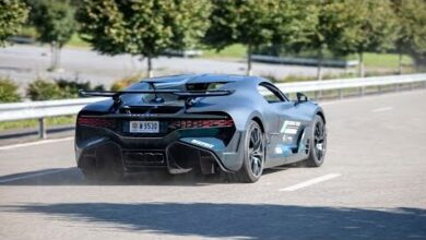 Supercars Accelerating Bugatti Divo Ipe 812 Gts Straight Pipe F8 Gt2 Rs Ipe Gt3 Rs Aventador T6T2 Shqvd4 Image