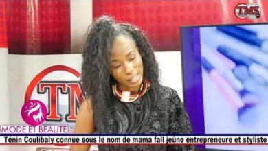 Tenin Coulibaly Connue Sous Le Nom De Mama Fall Jeune Entrepreneure Et Styliste Invite Dans Lem Gtrajyn Ln8 Image
