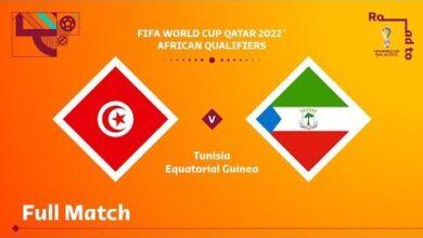 Tunisia V Equatorial Guinea Fifa World Cup Qatar 2022 Qualifier Full Match 02Pko509Av0 Image
