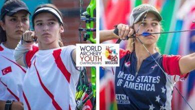 Turkey V Usa Compound Junior Womens Team Bronze Wroclaw 2021 World Archery Youth Championships Doa Eejoty4 Image