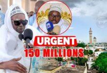 Urgent Touba Serigne Mountakha Sort 150 Millions Dont 30 Milions Pour Bklwiivjhoc Image