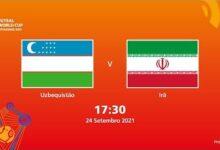 Uzbequistao V Ira Copa Do Mundo Fifa De Futsal De 2021 Partida Completa 8Aek Vfcnki Image