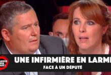 Vanessa Infirmiere Refusant La Vaccination En Larmes Face Au Depute Julien Borowczyk 6Z2Z3Otvmmq Image