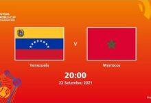 Venezuela V Marrocos Copa Do Mundo Fifa De Futsal De 2021 Partida Completa Fuan8U6X5Nu Image