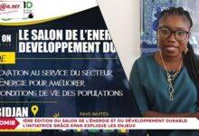 1Ere Edition Du Salon De Lenergie Et Du Developpement Durable Grace Kpan Explique Les Enjeux Vljlfm5Yfjm Image
