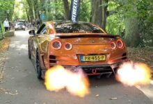 700Hp Top Secret Nissan Gt R R35 With Armytrix Exhaust Huge Flames Revs Accelerations Uhw0Whmwzwc Image