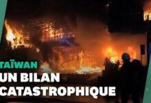 A Taiwan 46 Morts Dans Lun Des Pires Incendies Dimmeubles Depuis 20 Ans Ufgycjm30Ci Image