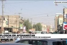 Afghanistan Plusieurs Morts Dans Lexplosion Dune Mosquee Chiite A Kandahar O France 24 5Qorm6Y7Ids Image