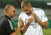 Algerie Belmadi Affirme Que Nice A Aussi Demande A Slimani De Mettre Lalgerie Entre Parentheses Vbur9Srdvug Image