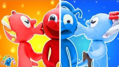 Amour Chaud Et Amour Froid Que Choisira Blue Animated Cartoons Characters Clay Mixer Heroes 1Ffd Cemapg Image