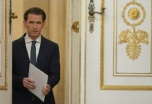 Autriche Soupconne De Corruption Le Chancelier Sebastian Kurz Annonce Sa Demission Asedgutzqho Image