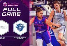 Bcf Elfic Fribourg V Banco Sardegna Sassari Full Game Eurocup Women 2021 22 D23Gahbswt8 Image