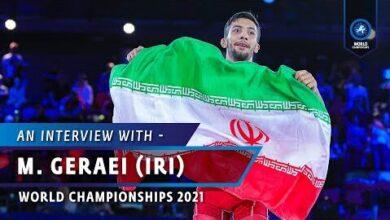 Best Year Of My Life Says Mohammadreza Geraei Iri After Winning Gr 67Kg Gold At Wrestleoslo Htfnkzfue2C Image