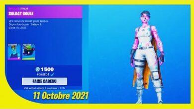 Boutique Fortnite Du 11 Octobre 2021 La Goule Lmvzgiszf1U Image